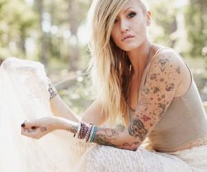 tatouage diamant bras